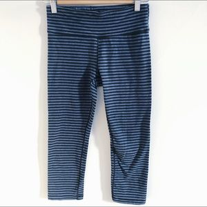 Gap Body | Striped Capri Leggings